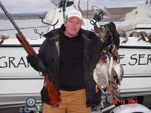 Elephant Butte Duck Hunting