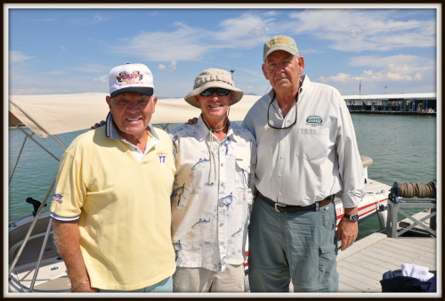 Casey Luna, Bob Gerding, and Guide, Billy Jack Miller