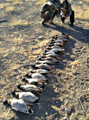 Duck Hunting with Rio Grande Guide Service