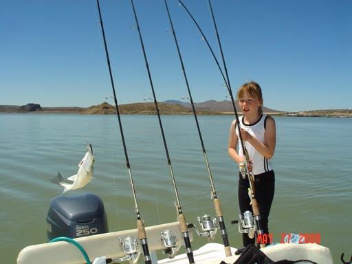 Guide, Gidget Moon Miller has a live one on the line!!