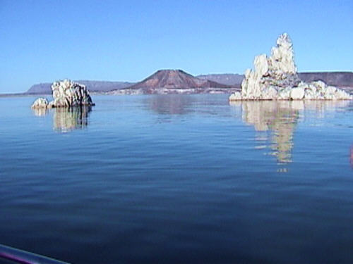 View of Kettletop Mountain at Elephant Butte Lake