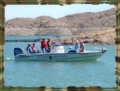 Rio Grande Guide Service takes NM Air National Guard fishing