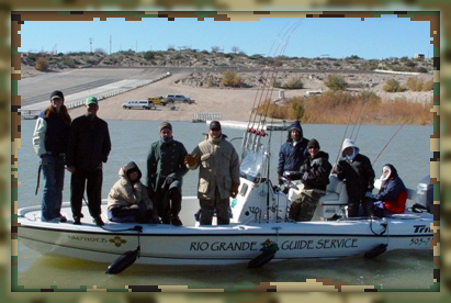 Rio Grande Guide Service takes a Soldier Fishing Program