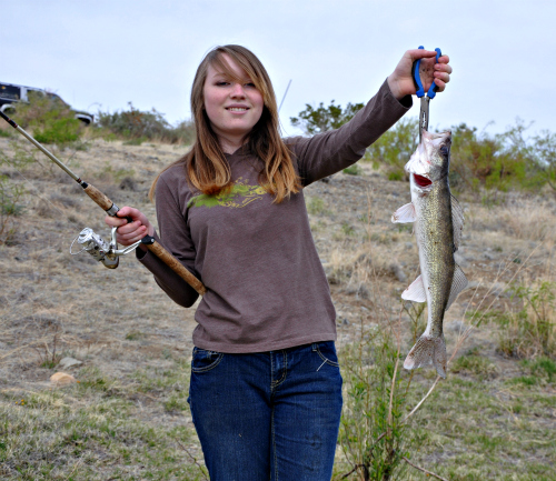 Walleye Fishing with Rio Grande Guide Service